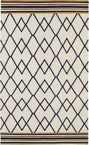 Scandinavian Area Rugs by Nomad Nom03 Black Rug From The Scandinavian Rugs I Collection At