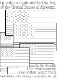 us flag coloring pages pledge of allegiance coloring page funycoloring