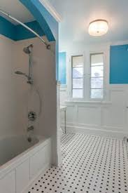 custom shower cubby tile boxes subway tile on walls