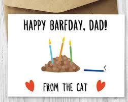 birthday card printable happy birthday cat digital card