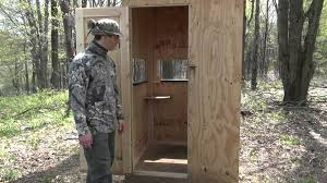 Ground Blinds For Deer Hunting Homemade Deer Hunting Blinds U2013 Homemade Ftempo