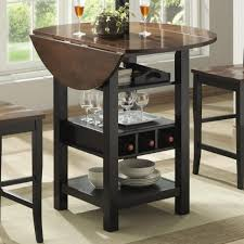 table leaf storage ideas coffee table simple smallining room arrangements ideas with round