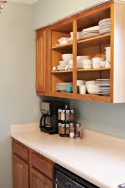 Open Kitchen Cabinets Good Open Cabinets On Open Kitchen Cabinet Door Remove The Cabinet