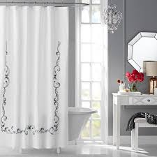 Science Shower Curtain Shower Curtain Rod Hotel Style Vivien Embroidered Fabric Shower Curtain Walmart Com