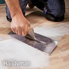how to install luxury vinyl flooring family handyman