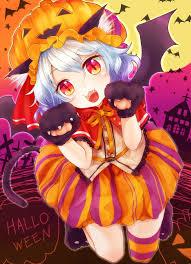 image result for anime neko halloween anime girls