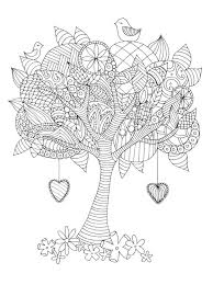 coloring pages for adults tree tree coloring pages for adults best 25 adult colouring pages ideas