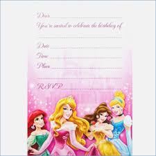 printable party invitations disney party invitations disney princess party invitations