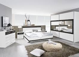 chambre adulte complète contemporaine blanche wengé kamaro ii