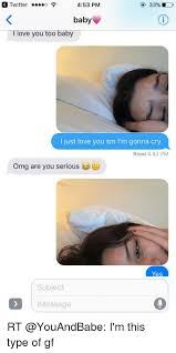 I Love L Meme - 25 best memes about i love you too baby i love you too baby