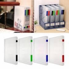 boite de rangement papier bureau pro a4 limes plastique document boîte de rangement support papier