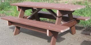 Trex Benches Six Foot 2 U201d Trex Picnic Table