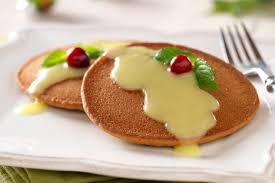 cuisiner avec du gingembre crêpes au gingembre avec crème anglaise chaude kraft canada