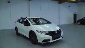 honda civic tourer 2015 2015 honda civic tourer 1 6 diesel black edition in white