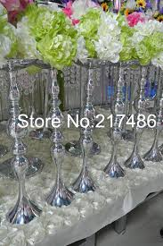 Trumpet Vase Wedding Centerpieces by Online Get Cheap Clear Trumpet Vase Aliexpress Com Alibaba Group