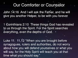 Holy Spirit My Comforter Walking With The Holy Spirit