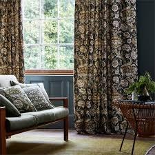 designer wandle morris and co wandle blue fabric 226396
