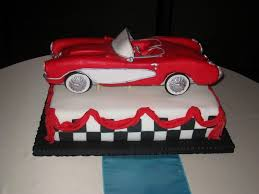 corvette birthday fabulous ideas corvette birthday cake and astonishing