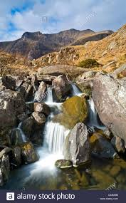 devils kitchen photograph a splitlevel image of cwm idwal and