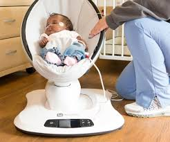 Can Baby Sleep In Vibrating Chair 4moms Meet The 4moms Mamaroo Infant Seat