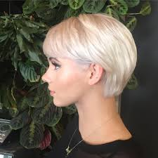growing out short hair but need a cute style beautiful platinum babe growing out pixie cut cute shape up
