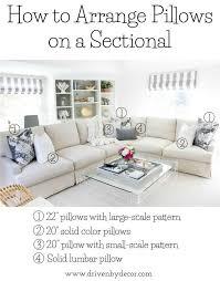 rooms to go sectional sofas pillows 101 how to choose u0026 arrange throw pillows pillows