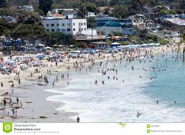 coastal at laguna california stock image image 56706901