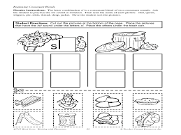 Special Education Worksheets Easy Consonants And Beginning Consonant Blends F And Sl