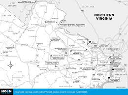Maps Virginia by Printable Travel Maps Of Virginia Moon Travel Guides