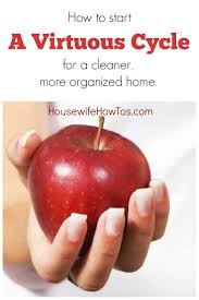 The Organized Home by Start A Virtuous Cycle For A Cleaner More Organized Home