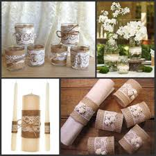 Burlap Home Decor Popular Decoration Rustic Buy Cheap Decoration Rustic Lots From