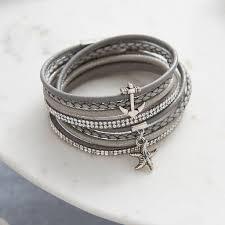 anchor wrap bracelet images Last sail before the veil anchor wrap bracelet by my posh shop jpg