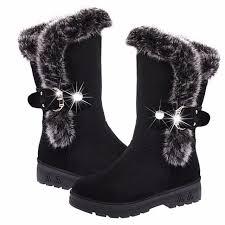 womens high heel boots australia winter warm mid calf zapatos mujer patform high heel shoes