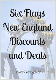 Buy Six Flags Season Pass Six Flags New England Discount Tickets Boston On Budget