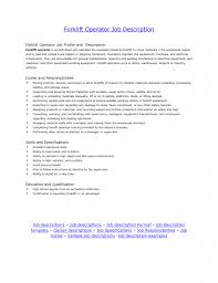 Sample Driver Resume by Sensational Idea Forklift Driver Resume 10 Forklift Operator