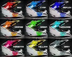 motocross helmet painting custom helmet wrap graphic