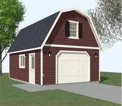 colonial style garages 16 u0027x20 u0027 barn garage plans pinterest