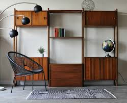 sold mid century danish modern modular wall unit by