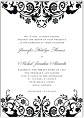 black and white invitations 30 free printable wedding invitations to for free