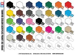 full set of 33 x tamiya colours