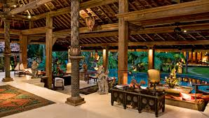 natural simple design of the balinese home design that has cream