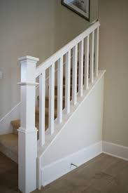 Interior Newel Post Caps Simple Newel Post Design With Square Balusters Home Pinterest
