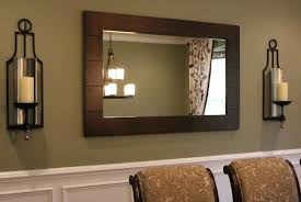 Mirror With Candle Sconces Candle Wall Sconces With Globe And Mirror Cream Mirror With Wall