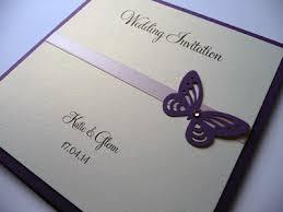 Butterfly Invitations Pocket Card Wedding Invitation With Flat Ribbon U0026 Butterfly Theme