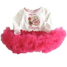 get cheap thanksgiving dresses for baby aliexpress
