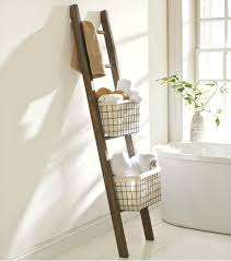 Over The Toilet Ladder 30 Diy Storage Ideas To Organize Your Bathroom Architecture