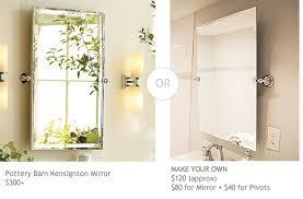 Home Depot Bathroom Mirror Daly Designs Diy Bathroom Mirror For Our Rooms Pinterest