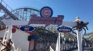 Six Flags Scary Rides Chicago Cubs Playoff Victory Has St Louis Ride Being Renamed Si Com