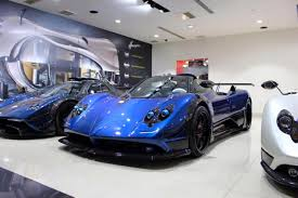 blue pagani one off pagani zonda kiryu released after private unveiling in japan