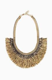 bib necklace gold images Gold bib feather necklace on gold chain pegasus necklace jpg
